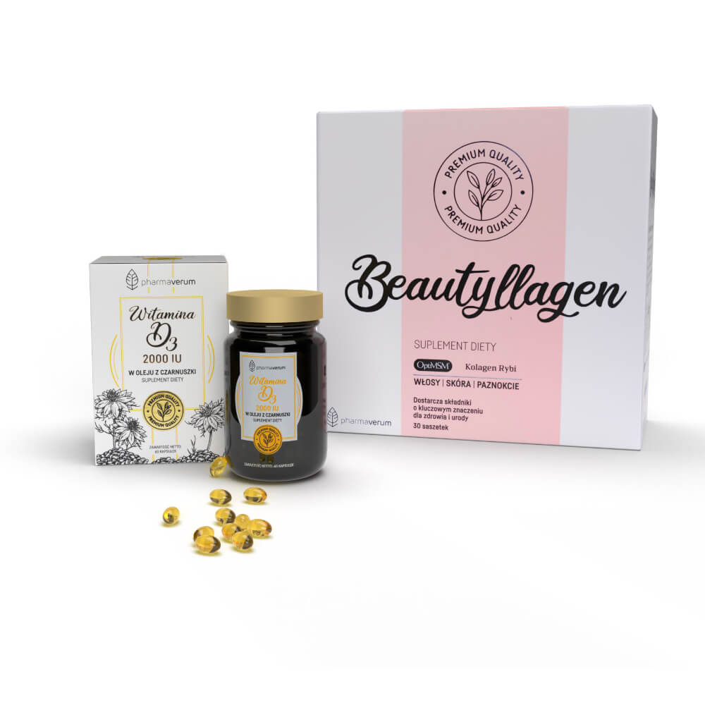 Beautyllagen + Witamina D3
